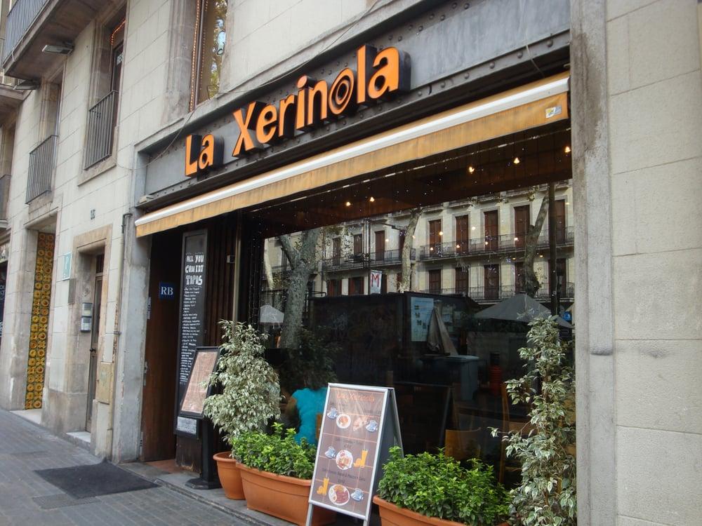 Xerinola cucina spagnola la rambla 96 el raval for B b barcellona vicino ramblas