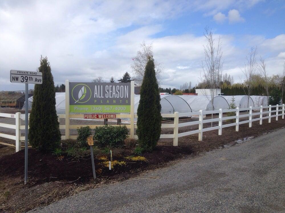 All Season Plants: 21000 NW 39th Ave, Ridgefield, WA