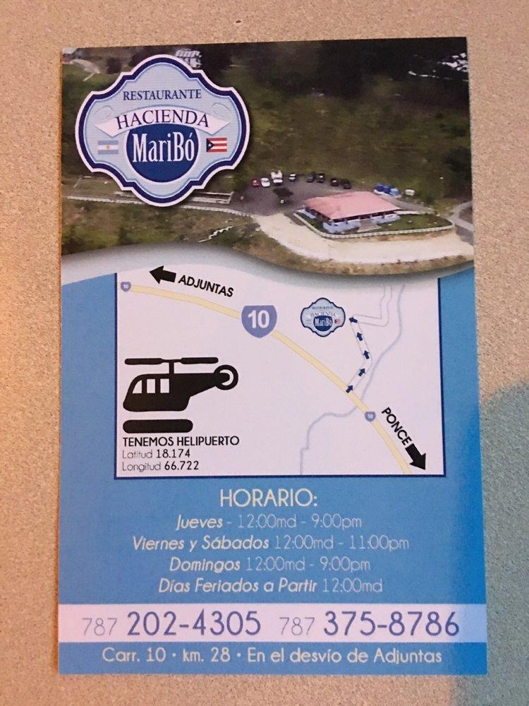Hacienda Maribo: State Route 10 Km. 28, Adjuntas, PR