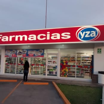 A punta de pistola asaltan farmacia Yza del Fracc. Moderno