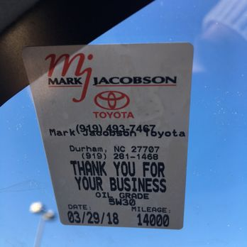 Photo Of Mark Jacobson Toyota Durham Nc United States Sticker With Wrong