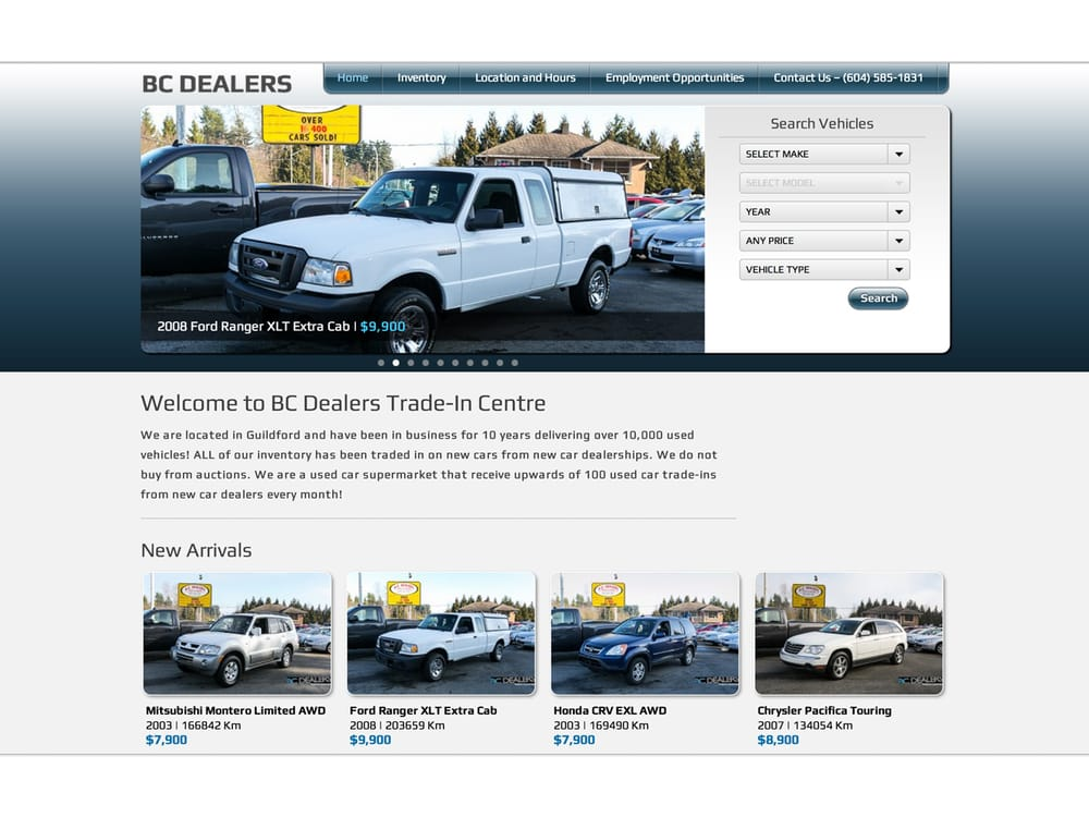 Bc Dealers Trade In Center - Car Dealers - 14458 104 Avenue, Surrey ...