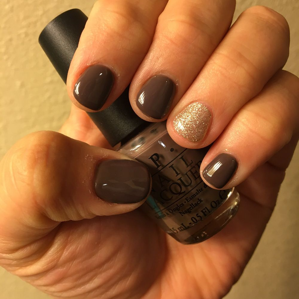 """Opi Gel Polish """"you Don't Know Jacques!"""" & Gold DND Gel"""