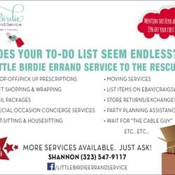 Photo Of Little Bir Errand Service Los Angeles Ca United States