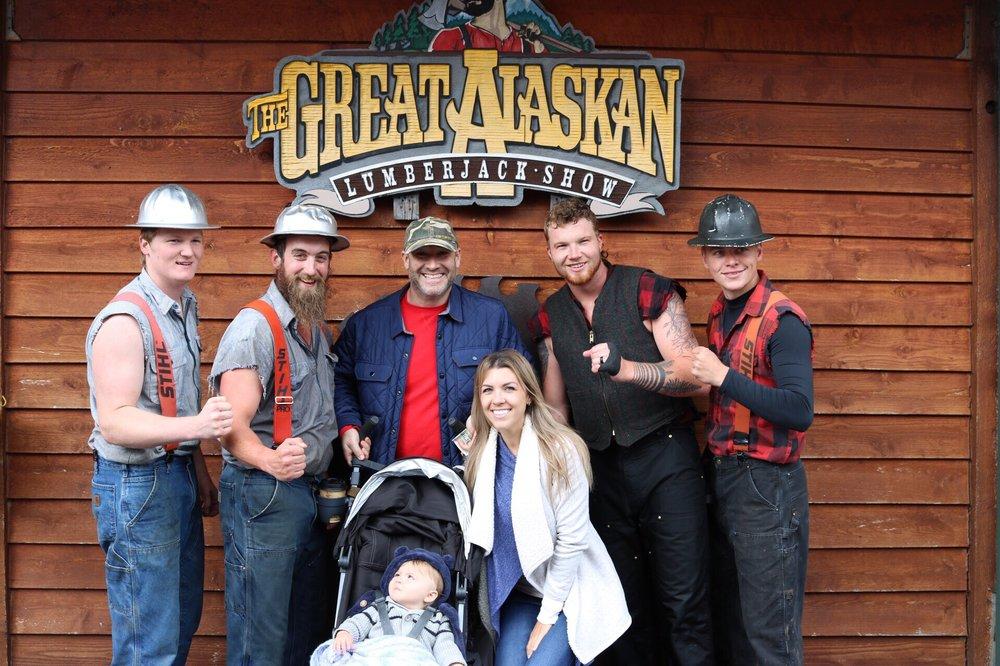 Great Alaskan Lumberjack Show: 420 Spruce Mill Way, Ketchikan, AK