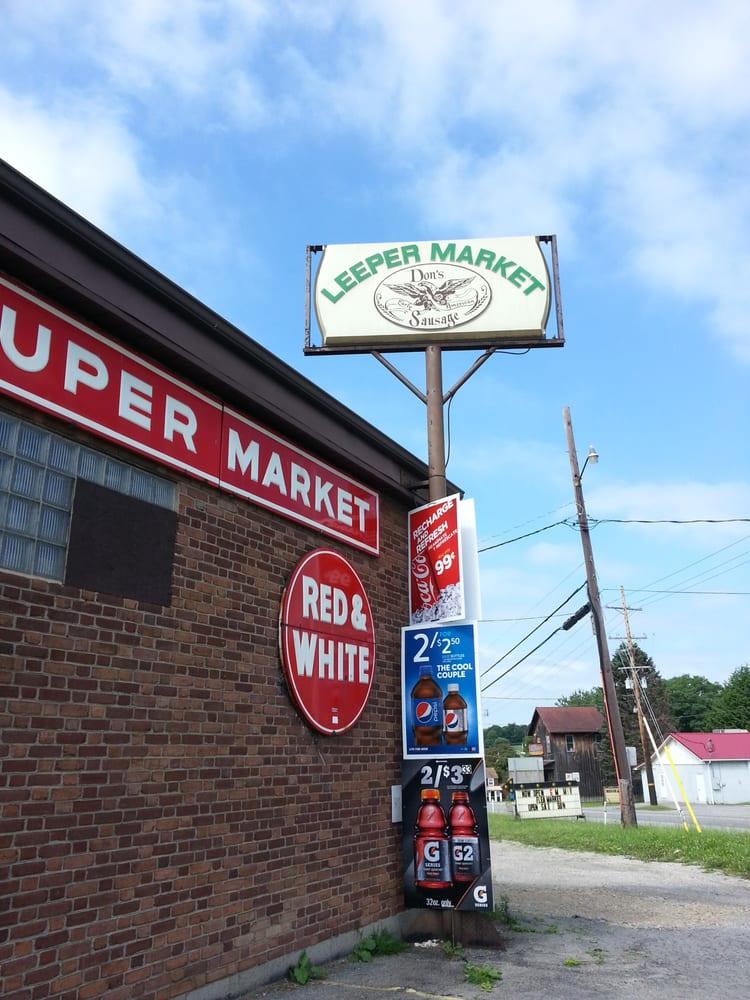 Leeper Red & White Market: Leeper, PA