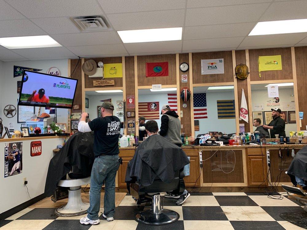Mark's Barber Shop: 921 Drinker Tpke, Covington Township, PA