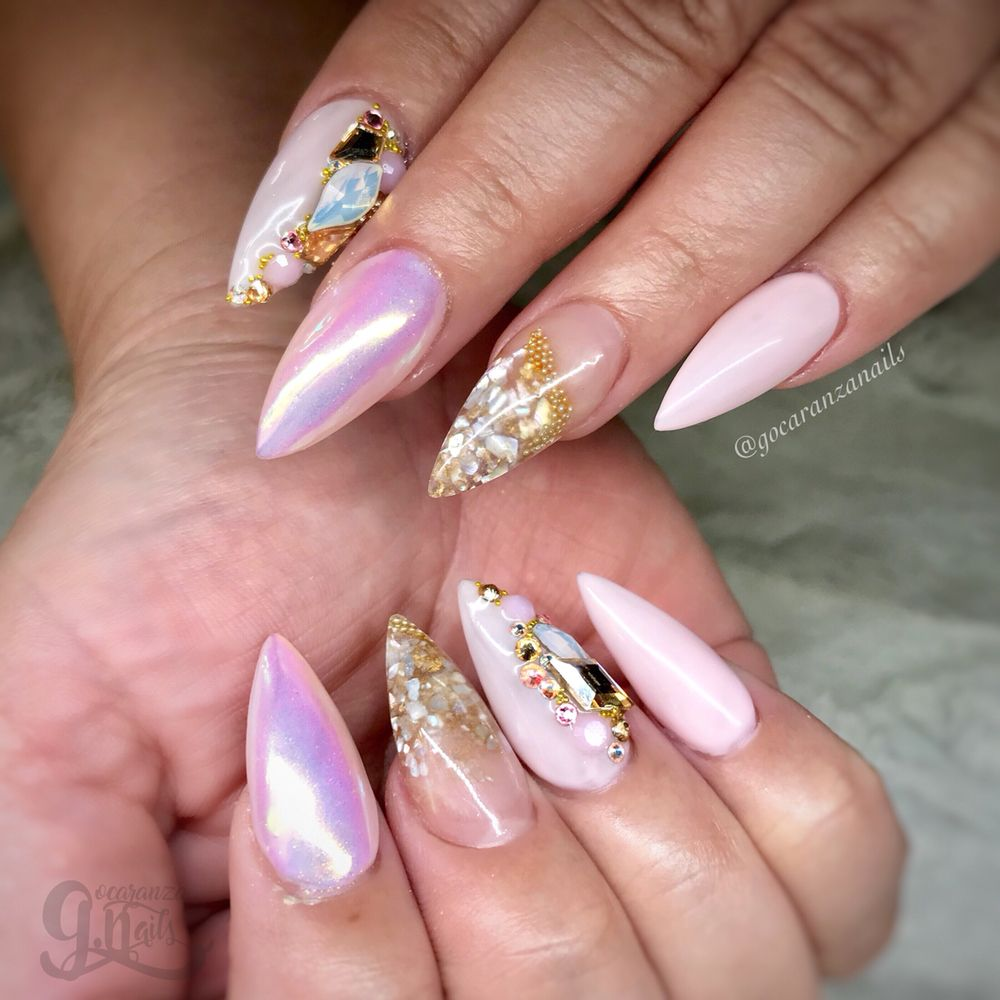 Photo Of Lupe Ocaranza Nails Los Angeles Ca United States Acrylic Fill