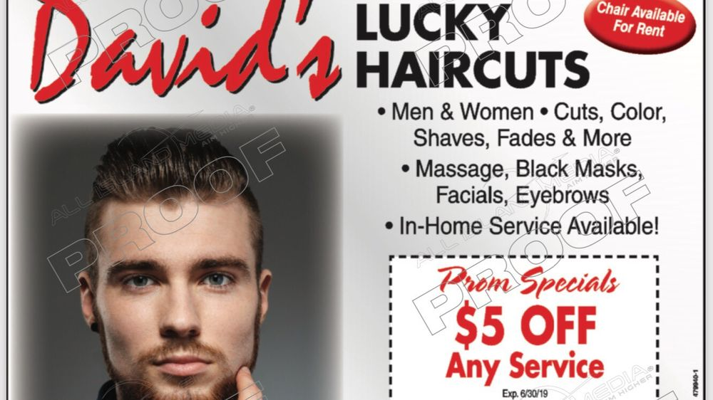 David's Lucky Hair Salon: 2158 Merrick Rd, Merrick, NY