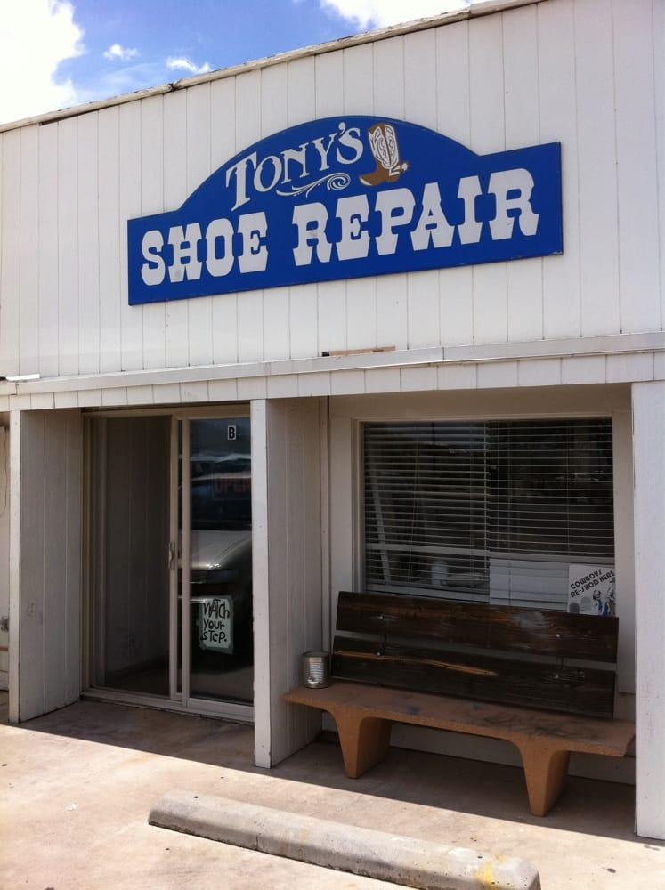 Tony S Shoe Repair Shoe Repair 104 N 7th St Sierra