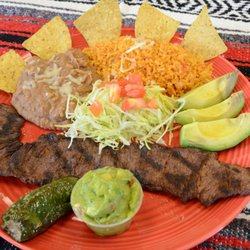 Wonderful Photo Of Taco Patio   Lockport, IL, United States. Carne Asada Dinner (