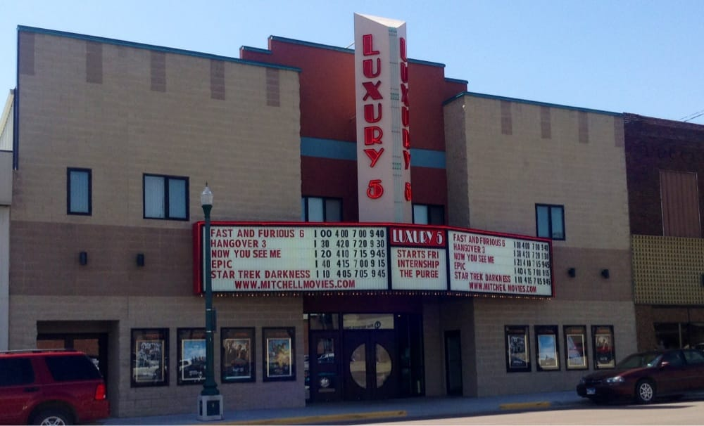 Theaters Logan Luxury: 209 N Lawler St, Mitchell, SD