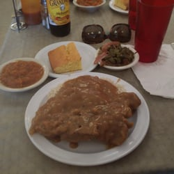 Photo Of Mama C S Kitchen Fayetteville Nc United States Pork Chops And