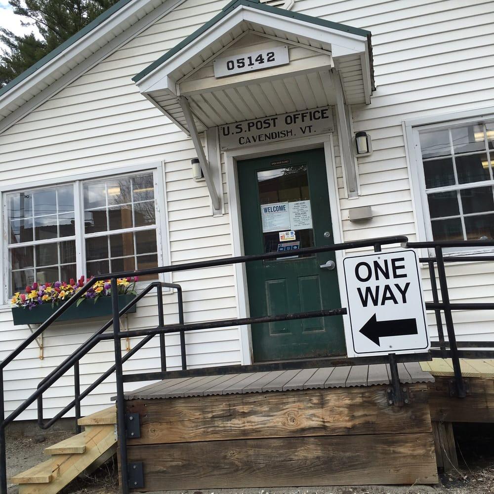US Post Office: 2025 Main St, Cavendish, VT