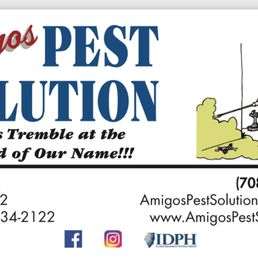 Amigos pest solution 17 photos pest control joliet il phone photo of amigos pest solution joliet il united states business card reheart Choice Image