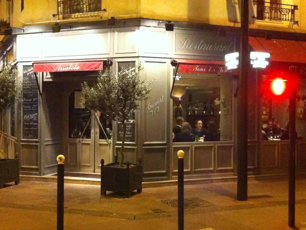 Restaurant anatole 20 avalia es franc s 50 rue for Cuisine 50 rue condorcet