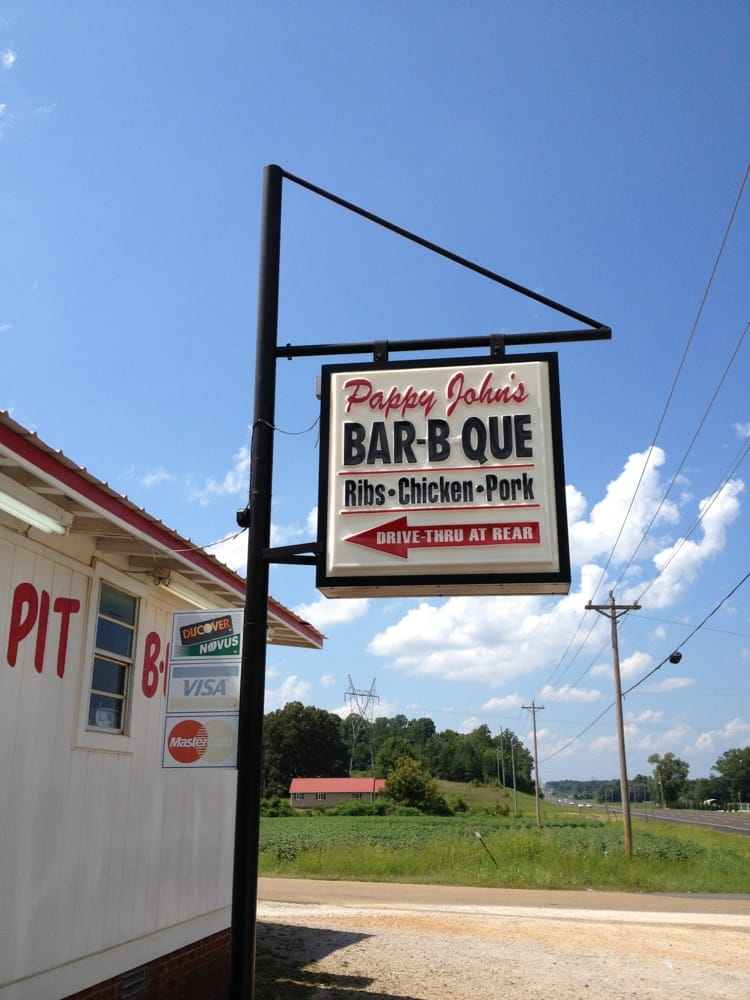 Pappy John's Original Barbecue: 3597 Us-45, Selmer, TN