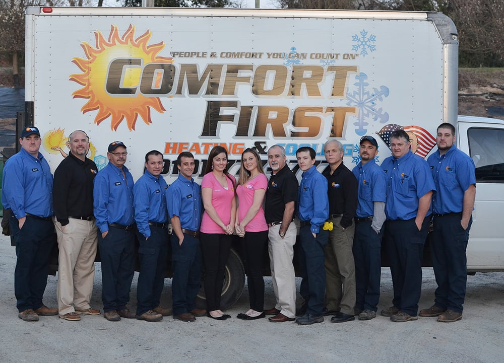 Comfort First Heating and Cooling: 7001 Lark Ln, Sanford, NC