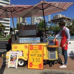 Alberta All Beef Hot Dog Cart - Street Vendors - 1790 Beach
