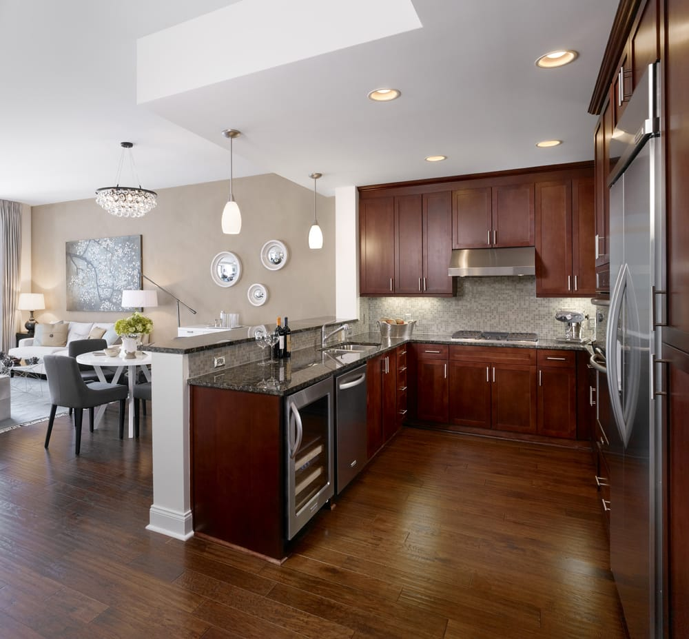 Luxury Apartments For Rent In Orlando Fl: Model Kitchen