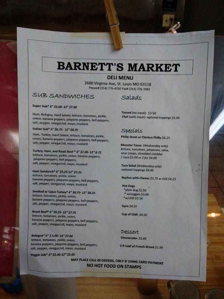 Barnett's Market