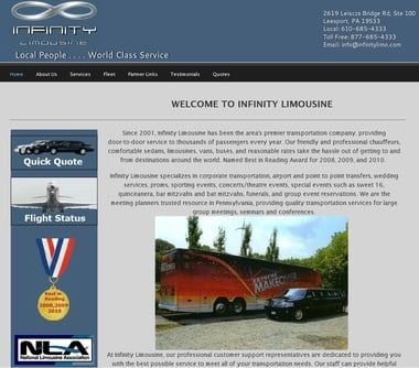 Infinity Limousine: 2642 Bernville Rd, Reading, PA