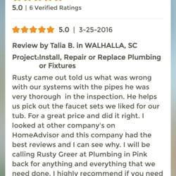 Photo Of Plumbing In Pink Greenville Sc United States My Review I
