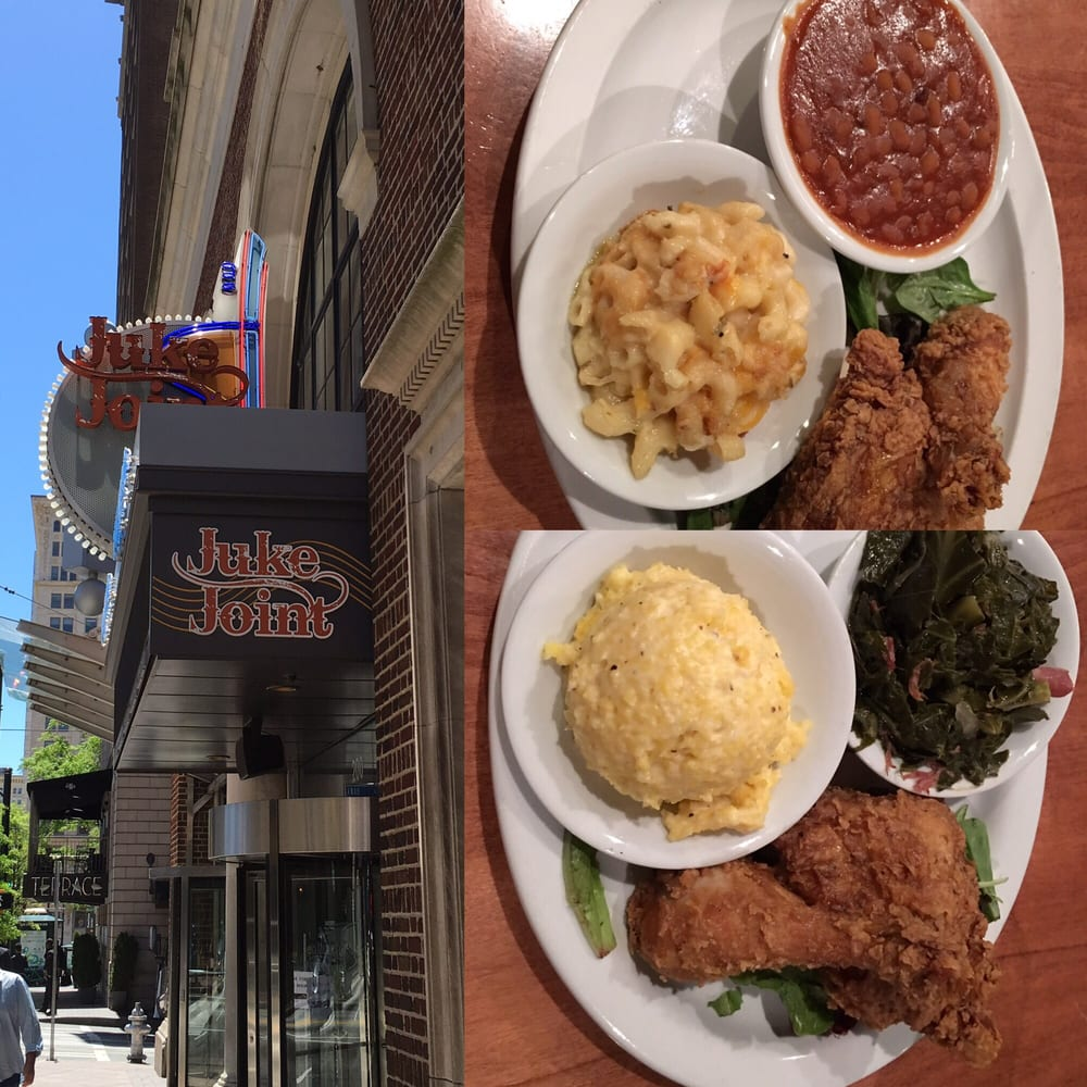 juke join fried chicken with baked beans mac and cheese. Black Bedroom Furniture Sets. Home Design Ideas