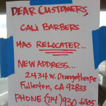 Barber Shop In Anaheim : Cali Barber Shop - 54 Photos & 20 Reviews - Barbers - 2401 West ...