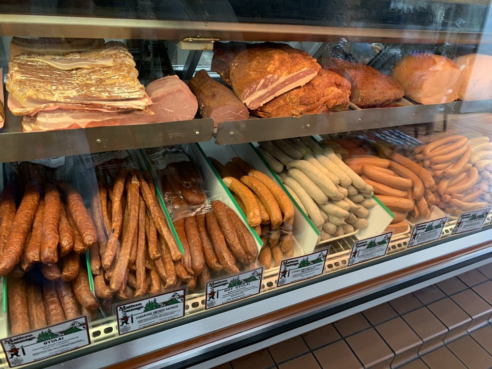 Food from Mattern Sausage & Deli