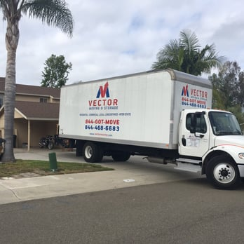 Photo Of Vector Moving And Storage   San Diego, CA, United States. Vector