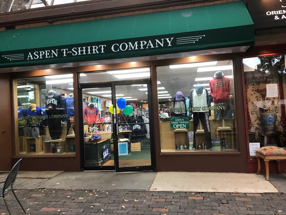 best authentic 1b6d1 68974 Aspen T Shirt Company - Fashion - 407 E Hyman Ave, Aspen, CO ...