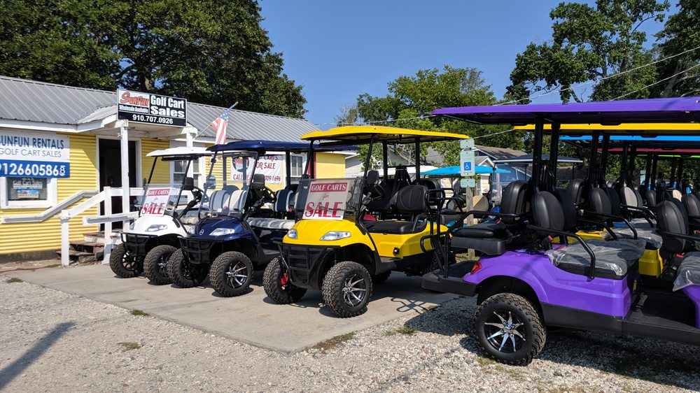 SunFun Golf Carts: 1204 N Lake Park Blvd, Carolina Beach, NC