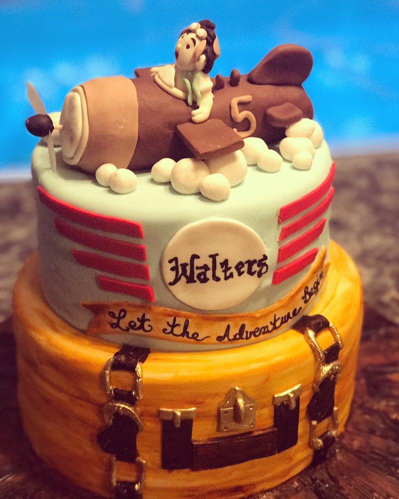 Traveling Airplane Luggage Birthday Cake Yelp