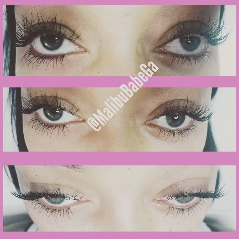 Top and bottom eyelash extension application! - Yelp