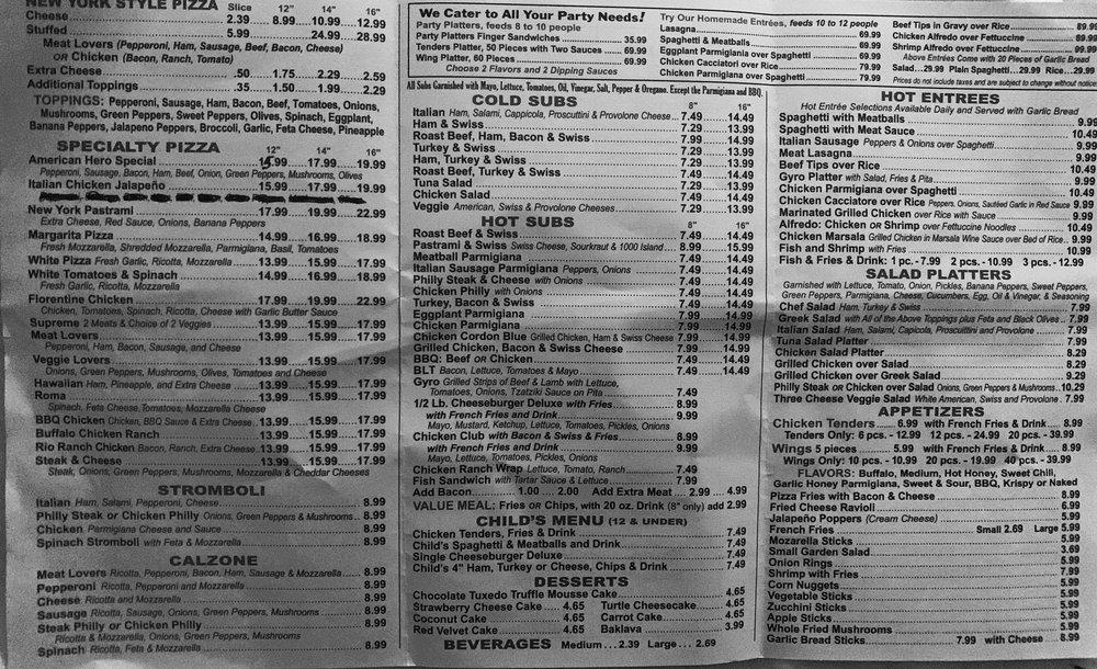 American Hero Family Restaurant: 517 N Durham Ave, Creedmoor, NC