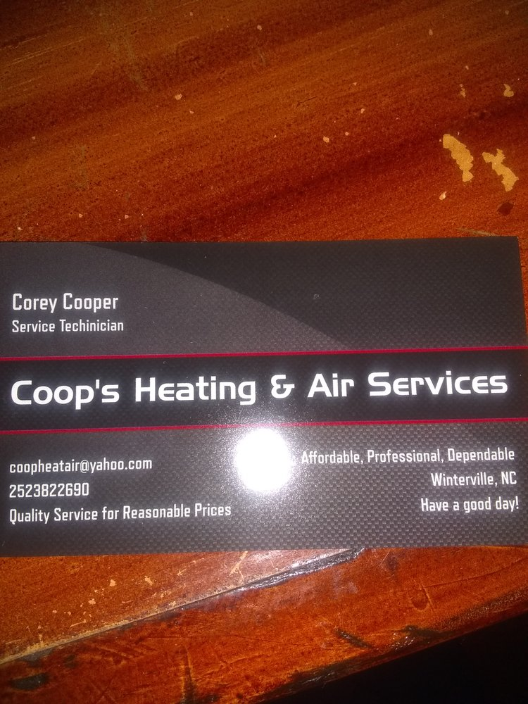 Coop's Heating And Air Services Plus: Winterville, NC