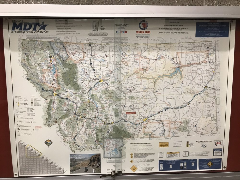 Greycliff Montana Rest Area: Interstate 90, Greycliff, MT