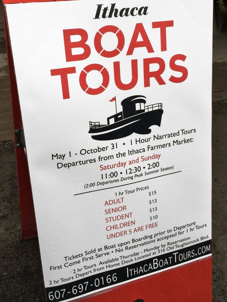 Ithaca Boat Tours: 416 Old Taughannock Blvd, Ithaca, NY