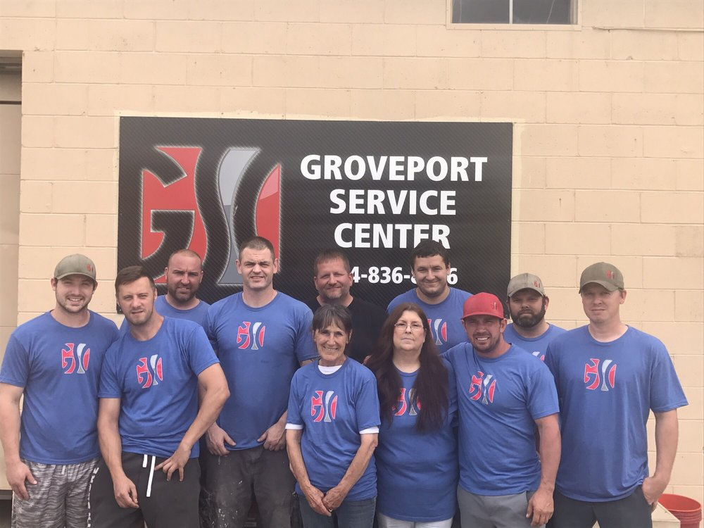 Groveport Service Center: 4875 Hendron Rd, Groveport, OH