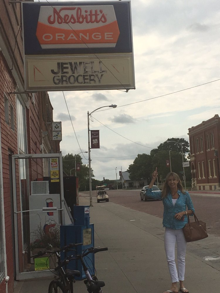 Jewell Grocery: 320 Delaware, Jewell, KS