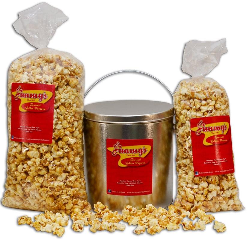 Jimmy's Golden Gourmet Popcorn: 911 Wood Chapel Ln, Durham, NC