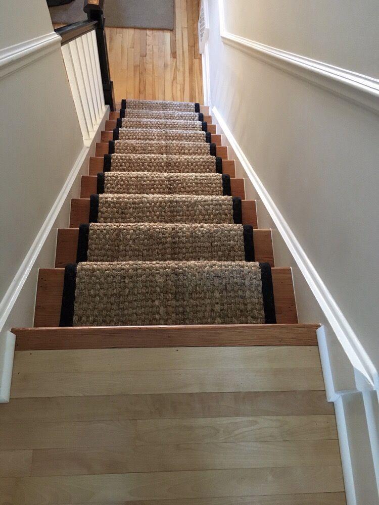 Photo Of Personal Impressions   Gloucester, ON, Canada. Hemp Stair Runner  With Wide