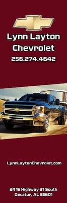 Lynn Layton Chevrolet - Car Dealers - 2416 Hwy 31 S ...