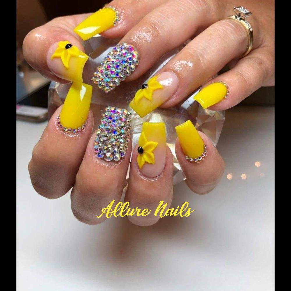 Allure Nails San Juan: 105 South Cesar Chavez Rd, San Juan, TX