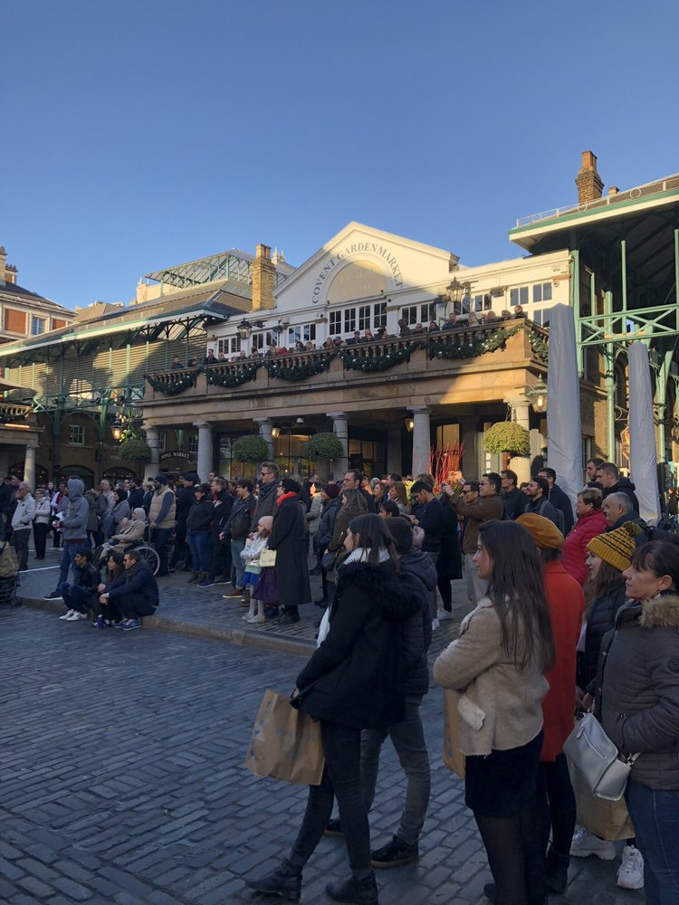 The Covent Garden Real Food Market