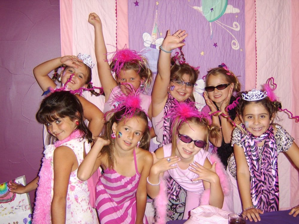girls themed birthday parties royal princess diva salon