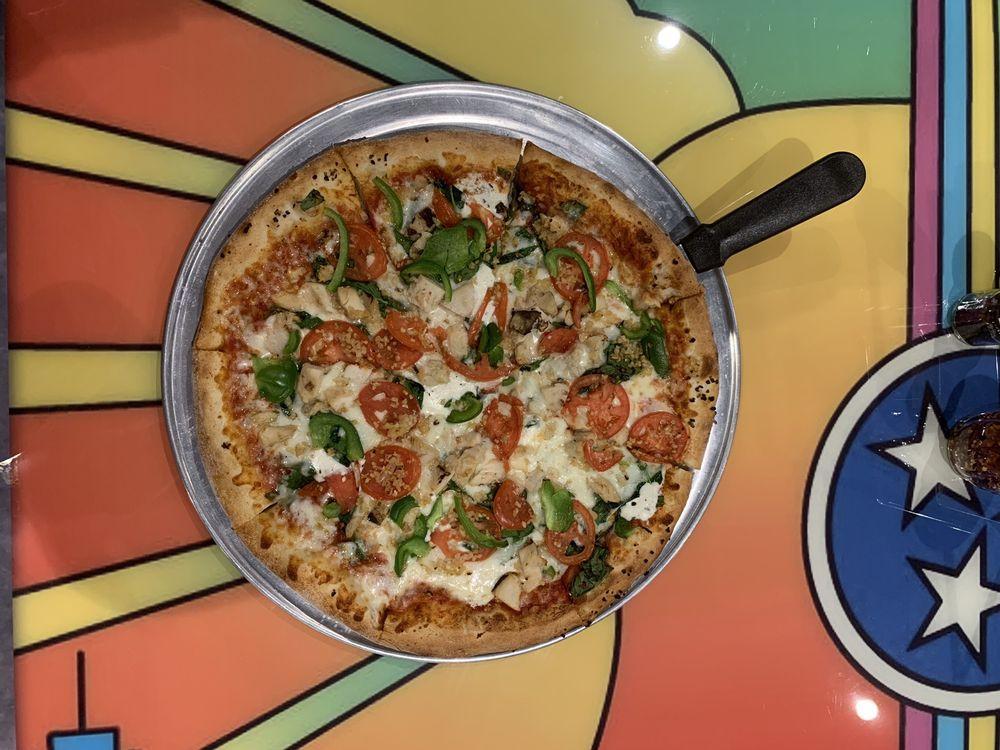Peace Love and Pizza: 4055 Old Milton Pkwy, Alpharetta, GA