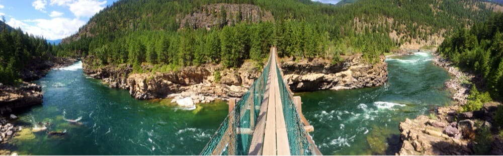 Opinion pics of swinging bridge in montana situation familiar