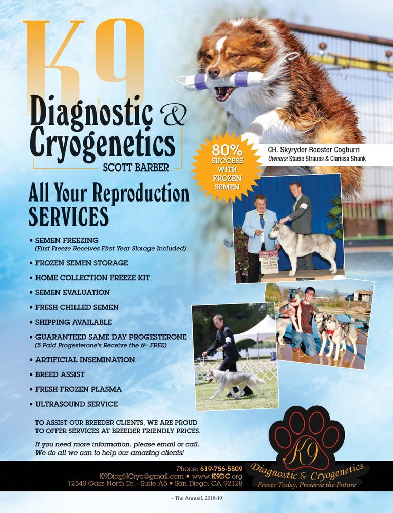 K9 Diagnostic & Cryogenetics